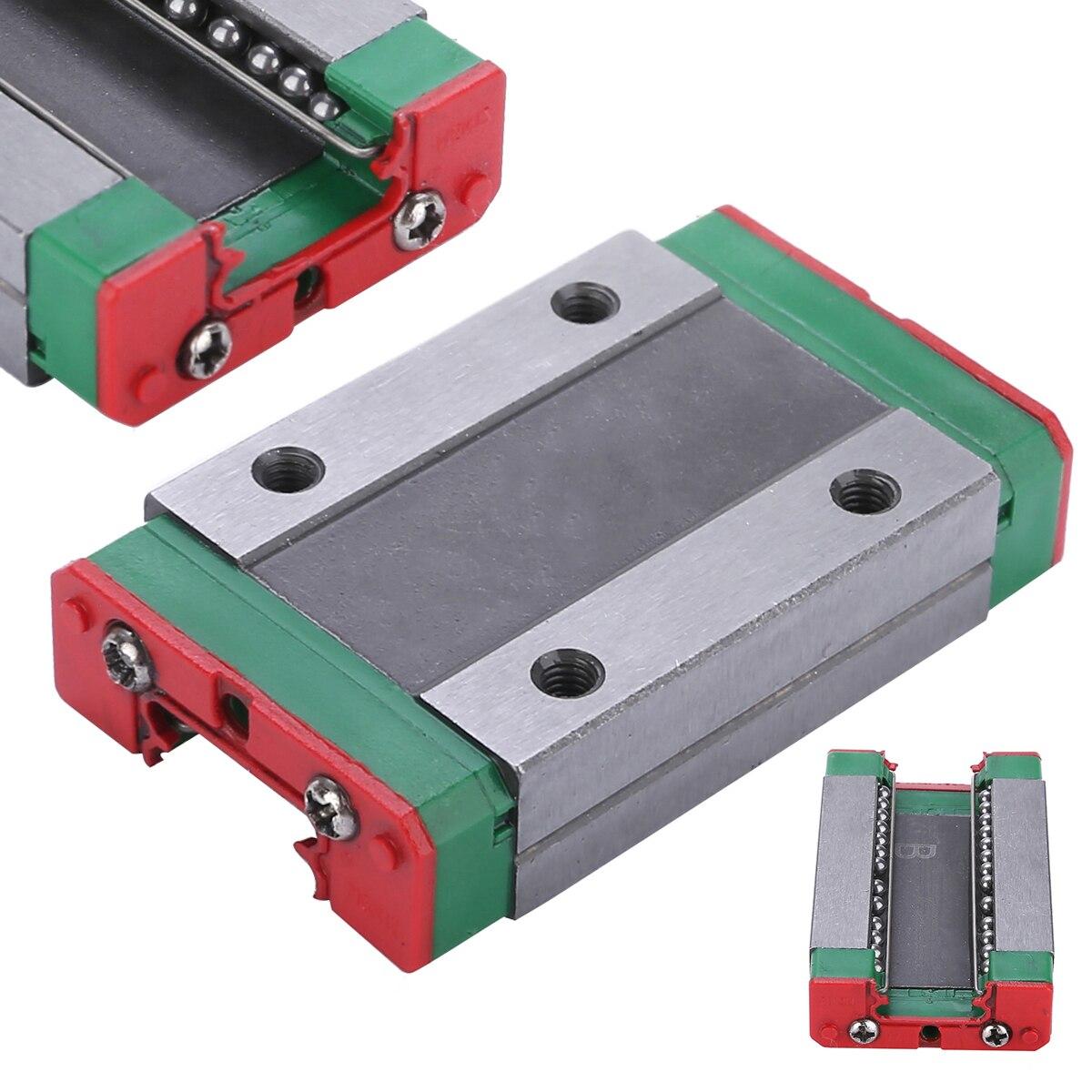 1 шт. MGN12H стальной раздвижной блок прочный линейный направляющий 43x26x10 мм для линейного подшипника CNC XYZ DIY