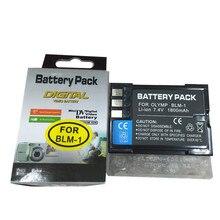 BLM-1 lithium battery BLM1 Digital camera battery for Olympus C-5060 C-7070 C-8080 E-30 E-300 E-330 E-500 E-510 E-520