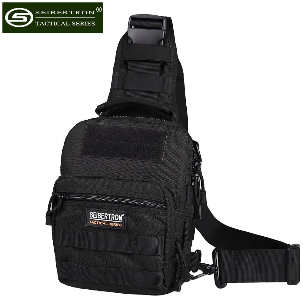 Seibertron Νέα Υπαίθρια τακτική στρατιωτική σπορ τσάντα Backpack ώμου για Camping πεζοπορία Unisex Nylon Trekking τσάντα