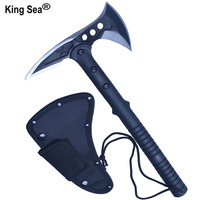 King Sea Camping Axe Tomahawk Army Outdoor Hunting Tactical Survival Machete Axes Hand Tool Fire Axe Hatchet Axe Ice Axe