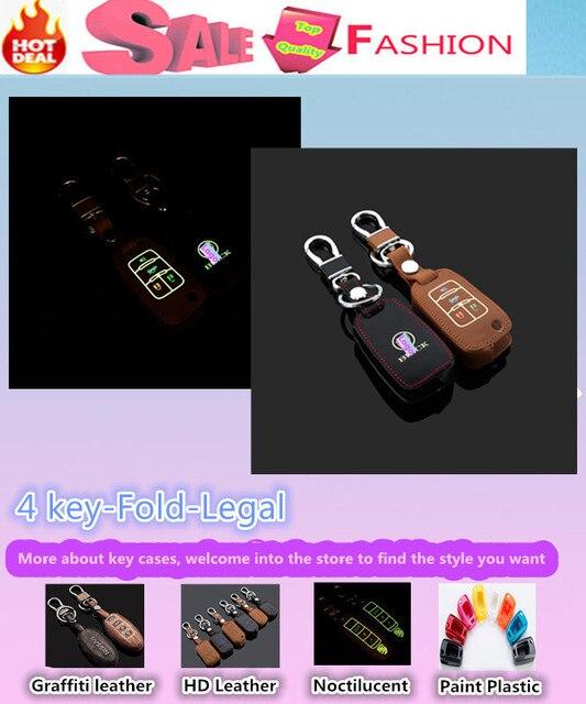 Высокое качество автомобиль стайлинг обложка детектор световой кожа ключи от машины сумка чехол брелок бумажник интеллектуальные / раза для царственный