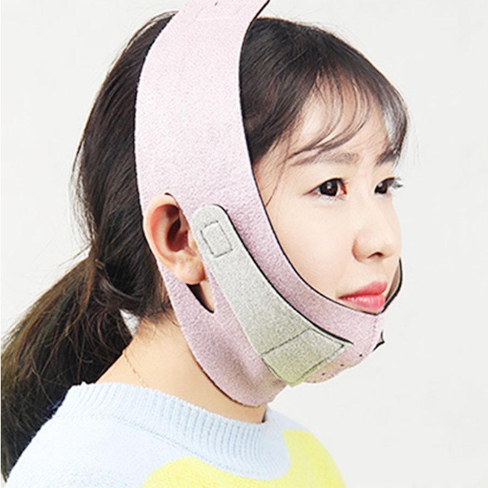 Face Slim V-Line Lift Up Mask Cheek Chin Neck Slimming Thin Belt Strap Beauty Delicate Facial Thin Face Mask Slimming Bandage