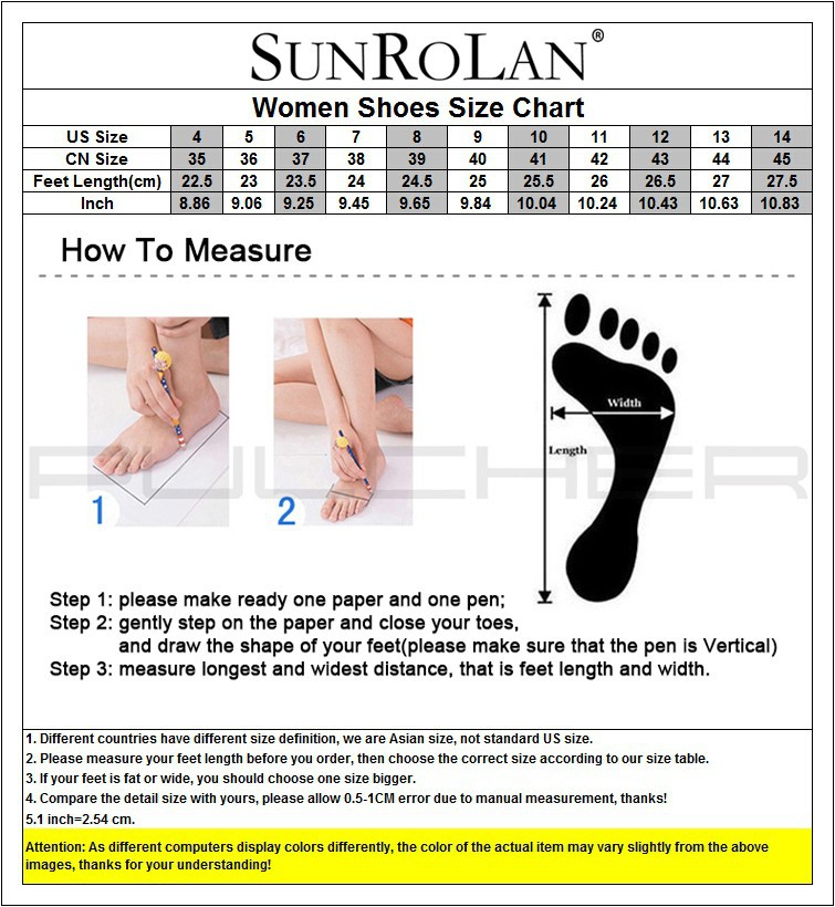 sunrolan women size chart