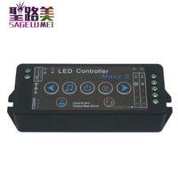 DC5V 24V 12V music 3 led controller mobile phone APP wifi controller Sensitivity Audio For SMD 5050 RGB RGBW led strip light