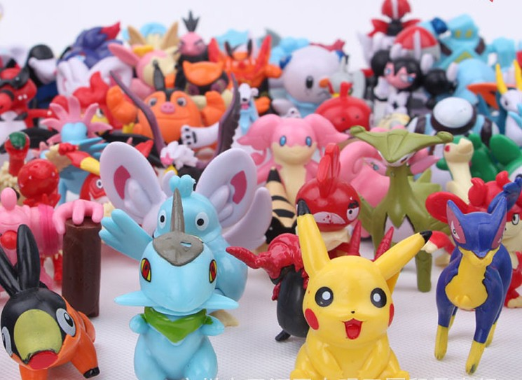24pcs Mini Pokemon Figures 7