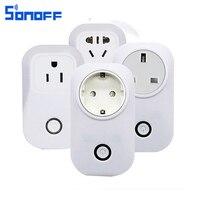 Sonoff S20 Wifi Wireless Remote Control Socket Outlet Smart Home Power Socket EU US Standard Via