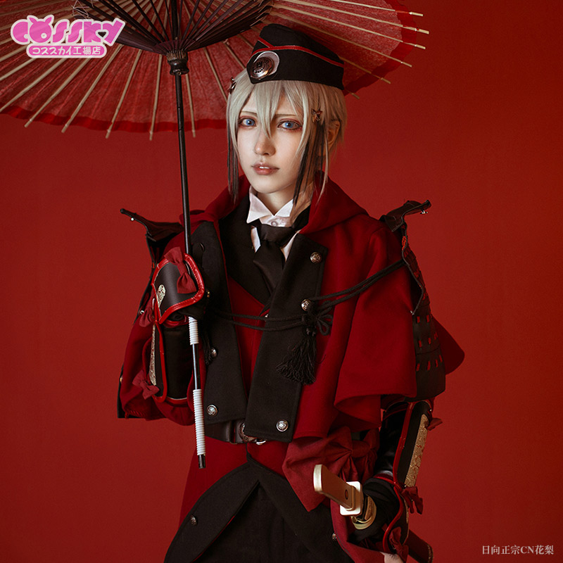 [STOCK] 2018 Game Touken Ranbu Online Battle Uniform Cosplay Custume Unisex S-XL Full Se ...