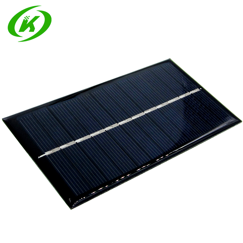 Active Components Integrated Circuits Mini 6v 1w Solar Panel Bank Solar Power Board Module Portable Diy Power For Light Battery Cell Phone Toy Chargers