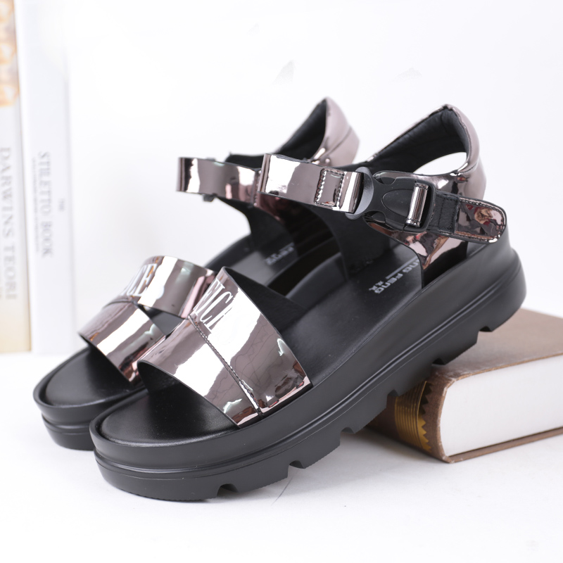 SHUANGFENG Fashion Women's Sandals Summer Shoes Woman 2018 New Wedges Open Toe Thick Heel Platform Sandals Women Ladies Footwear vtota summer shoes woman sandals wedges fashion women shoes high heeled shoes thick heel sandals waterproof platform shoes x326