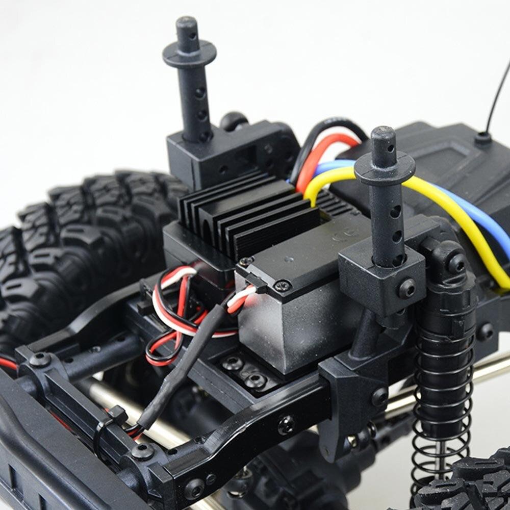RGT Ruitai 86100 1:10 Simulation Wrangler quatre roues motrices télécommande électrique modèle adulte Rc voiture tout-terrain d'escalade - 5