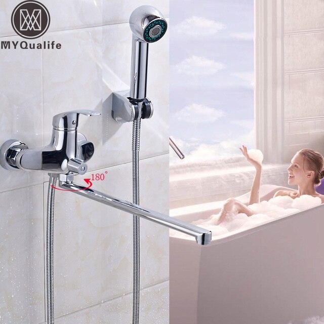 Klassische Badezimmer Badewanne Armaturen 395mm Lange Wasser Outlet ...