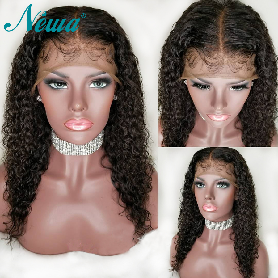Brazilian Lace Front Human Hair Wigs With Baby Hair Curly Lace Front Wigs Pre Plucked For