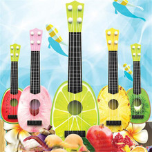 Children Learn Guitar Ukulele Mini Fruit Can Play Musical Instruments Toys PK
