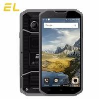 Original EL W8 4G Mobile Phone 5.5 Inches HD 2GB Ram 16GB Rom Phones Android 6.0 Shockproof Waterproof Unlocked Cellphone Lte