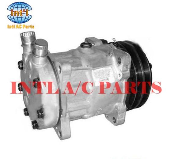 sanden 8053 8069 sd7h15 ac air compressor for daf jcb 123 04999 rh aliexpress com Sanden Compressor Oil Sanden Compressor Clutch