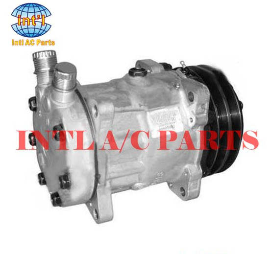 US $70 0 |sanden 8053 8069 SD7H15 ac air compressor for DAF/JCB 123/04999/  Volvo trucks FH12/FH16/ Scania 2 3 11007314 11007857 11058974-in