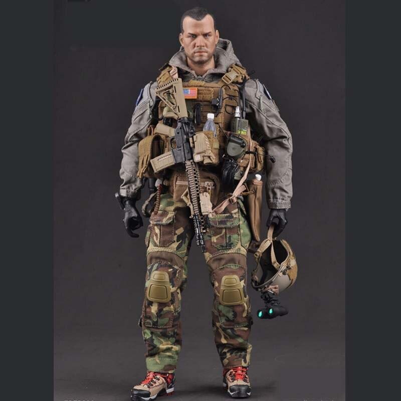Mnotht 73002/1/6 армейские силы США, морской корпус, специальная оперативная группа, игрушки для 12 В, армейский экшн фигурки m3n