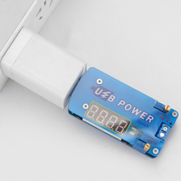 DC в DC Регулируемый регулятор напряжения мини USB 15 Вт стабилизатор напряжения Модуль контроллера питания CVCC бак Регулируемый источник питан...