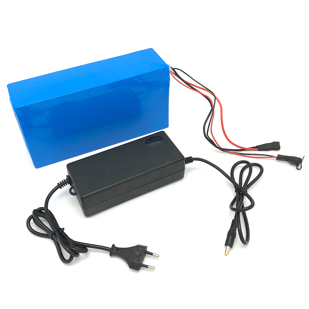 Batterie électrique 48 V Batts 250 w 500 w 1000 w 48 V 20AH batterie lithium-ion 48 v 20ah batterie 48 V 1000 W avec chargeur 54.6 V 2A