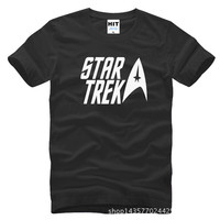 Classic Movie Star Trek Printed Mens Men T Shirt Tshirt Fashion 2015 New Short Sleeve O