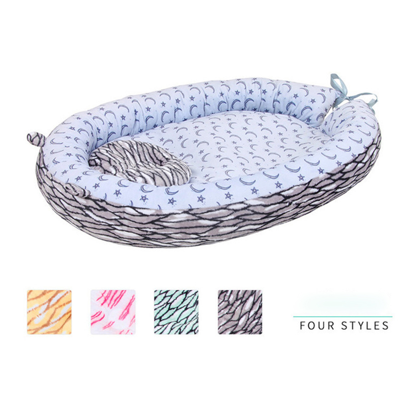 Portable Collapsible Crib Four Seasons Universal Multifunctional Baby Stereotypes Bed