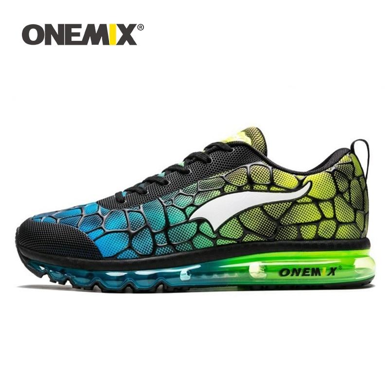 ONEMIX Men's Running Shoes Breathable Outdoor Damping Sport Lightweight Walking Sneakers Men Tennis Shoe Big Size Free Shipping