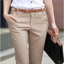 Женские брюки в западном стиле, темно-синие комбинезоны, Черные ol размера плюс, с высокой талией, облегающие брюки