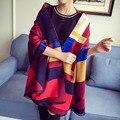 Зимний шарф длинный моды утолщение искусственного кашемир мыс дизайнер плед шарф большой зимний тепловой шаль wrap бесплатная доставка WS953