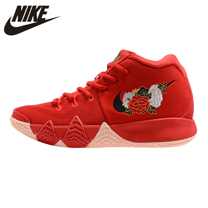308afdc58d Nike Kyrie 4 City Guardians Men Basketball Shoes, Red Black,  Shock-absorbing Non-slip Breathable 943807 301 943807 002