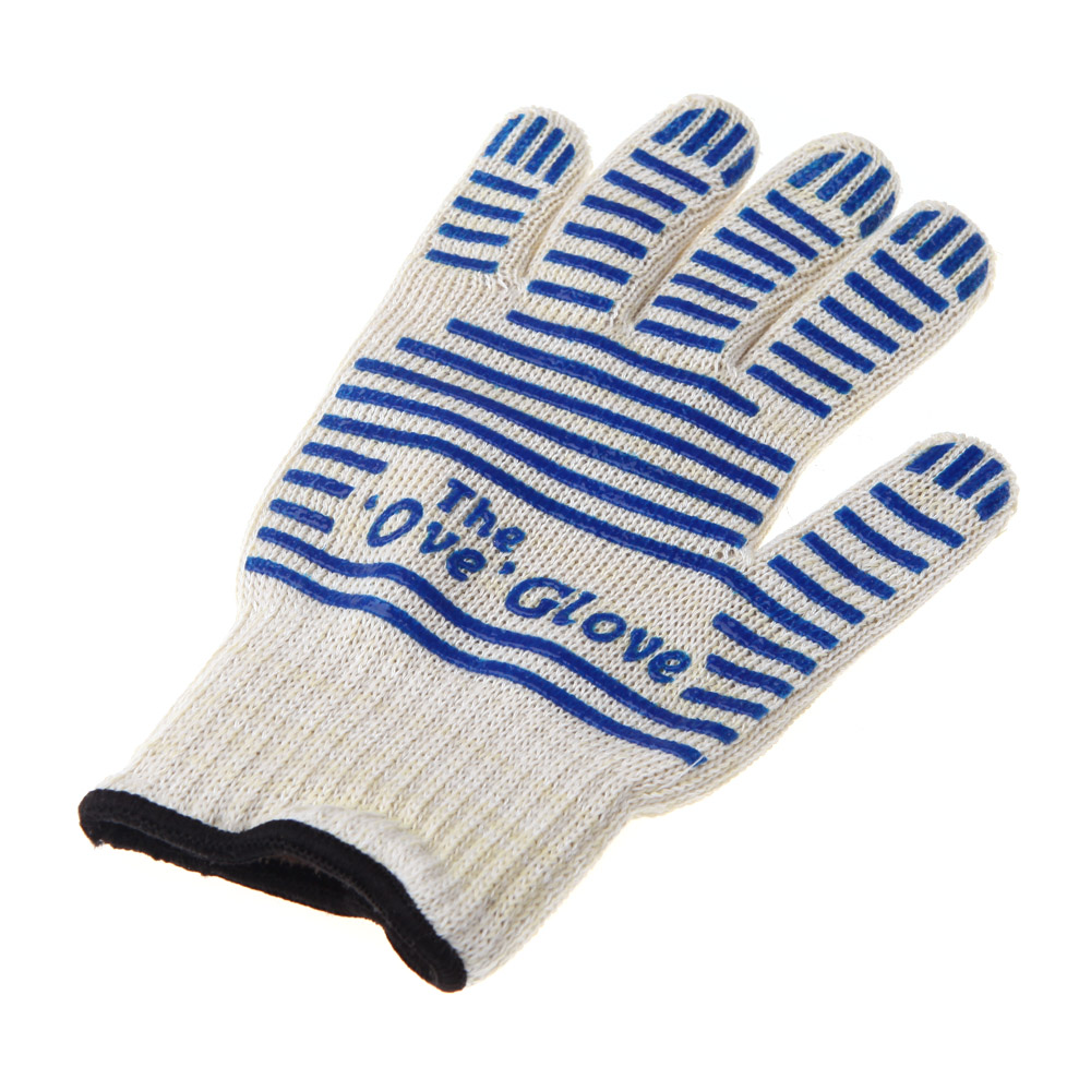 Hot 2pcs Set Oven Gloves Silicone Heat Proof Resistant Fireplace Bbq Outdoor Barbecue Kitchen In Mitts