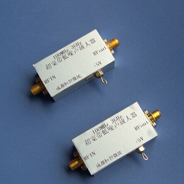 ФОТО 20MHZ to 3GHZ Low-noise amplifier RF Amplifier 30dB frequency : 100MHz-3000MHz