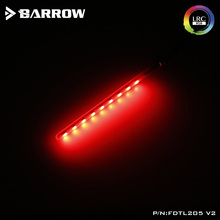 BARROW 12V 4PIN RGB Light connect to Motherboard AURA Support 200mm / 260mm R Cylindrical Water Coolant Tank цены