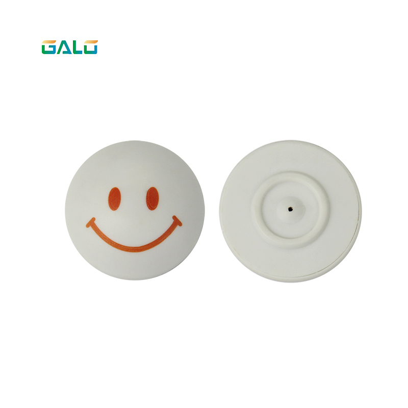 Hot Selling Smile Anti-theft Clothing Tag Mini Round Hard Tag Clothing Dome TagHot Selling Smile Anti-theft Clothing Tag Mini Round Hard Tag Clothing Dome Tag