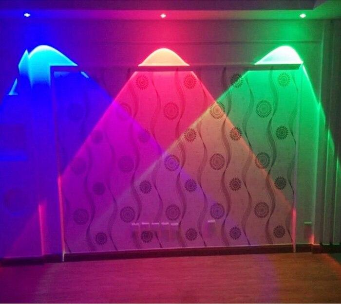 ФОТО Lantern LED Spotlight Ceiling Light Embedded Light Color Living Room Lamp TV Wall Lamp KTV LED lamps-za