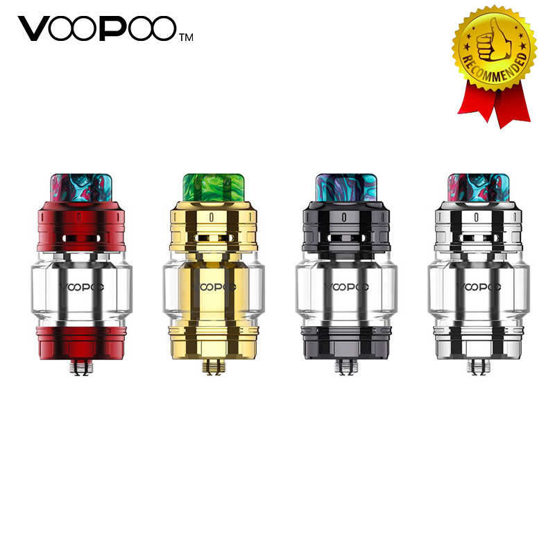 Original Voopoo Rimfire RTA 5ML Capacity 30mm Single/Dual Coil Rebuildable 810 Resin Drip Tip VS Geekvape Zeus Dual RTA Tank