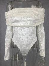 Sexy Revealing Velvet Bimbo Bodysuit Full Sleeve for crossdressers & shemales