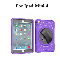 Armor Hybrid Shockproof Hand Held Case For Apple IPad Mini4 Mini 4 7 9 Tablet Protective