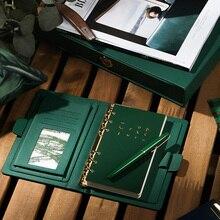 귀여운 a6 a5colored 개인 일기 소녀의 생일 선물, 느슨한 잎 노트북 리필 논문 여행자 저널 플래너