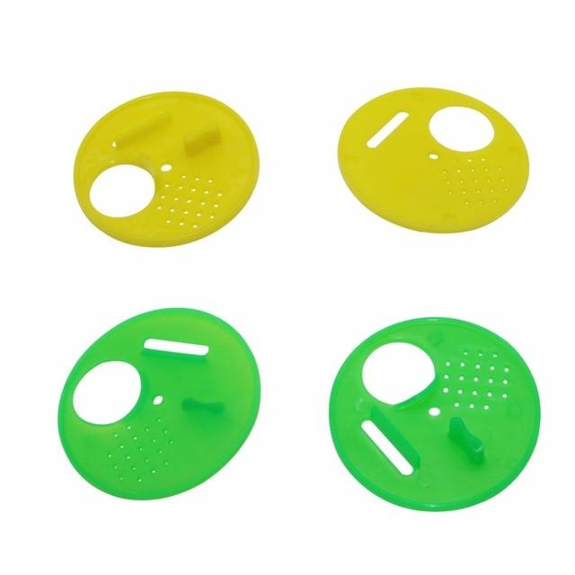 10 pz Insetto Forniture Alveari di Plastica Rotondo Strumenti di Apicoltura Alve