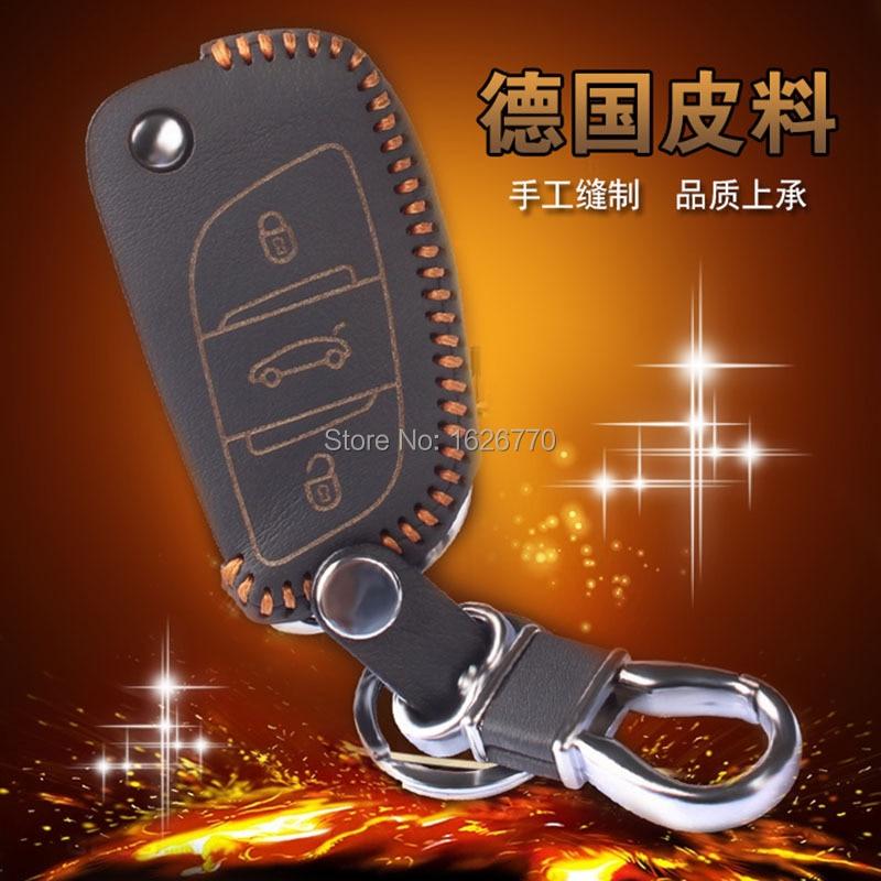 Genuine-Leather-Car-Key-Wallet-For-Citroen-C5-C4L-Leather-Keychains-3-Button-Leather-Car-Wallet (3).jpg