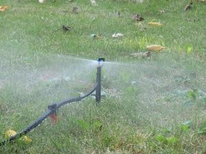 Image 3 - MUCIAKIE 50 個 24 センチメートル 180 度ミストノズルにステークガーデン灌漑マイクロドリップスプリンクラースプレー園芸用品ヘッド