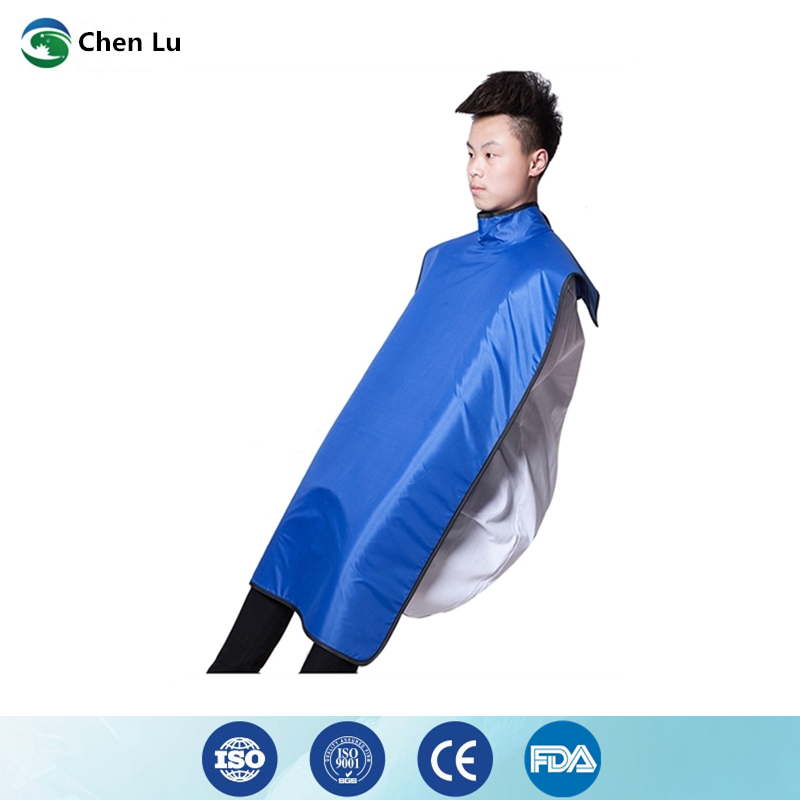 Image 2 - Direct Selling Medical uses of ionizing radiation protection 0.35mmpb high collar lead clothing x ray protective dental apron-in Safety Clothing from Security & Protection