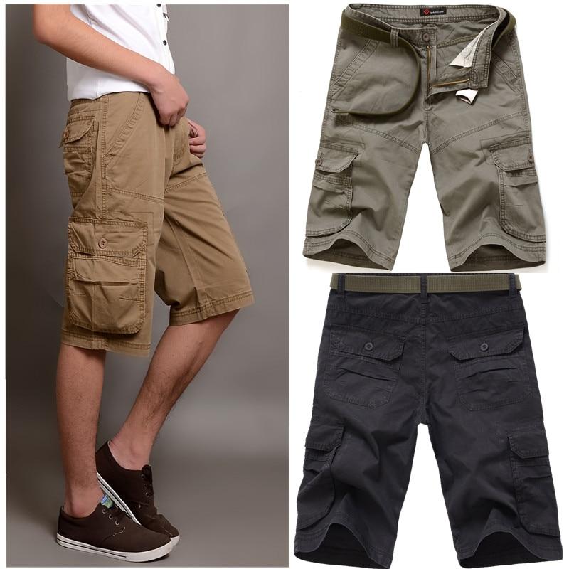 Aliexpress.com : Buy Cargo Shorts Hot Sale Flat Military Knee ...