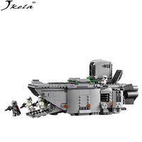 New 845pcs Star Wars First Order Transporter Model Building Blocks Bricks Toys Compatible With LegoINGly Starwars