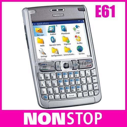 original nokia e61 unlocked mobile phone free shipping in mobile rh aliexpress com Nokia E60 Nokia E62