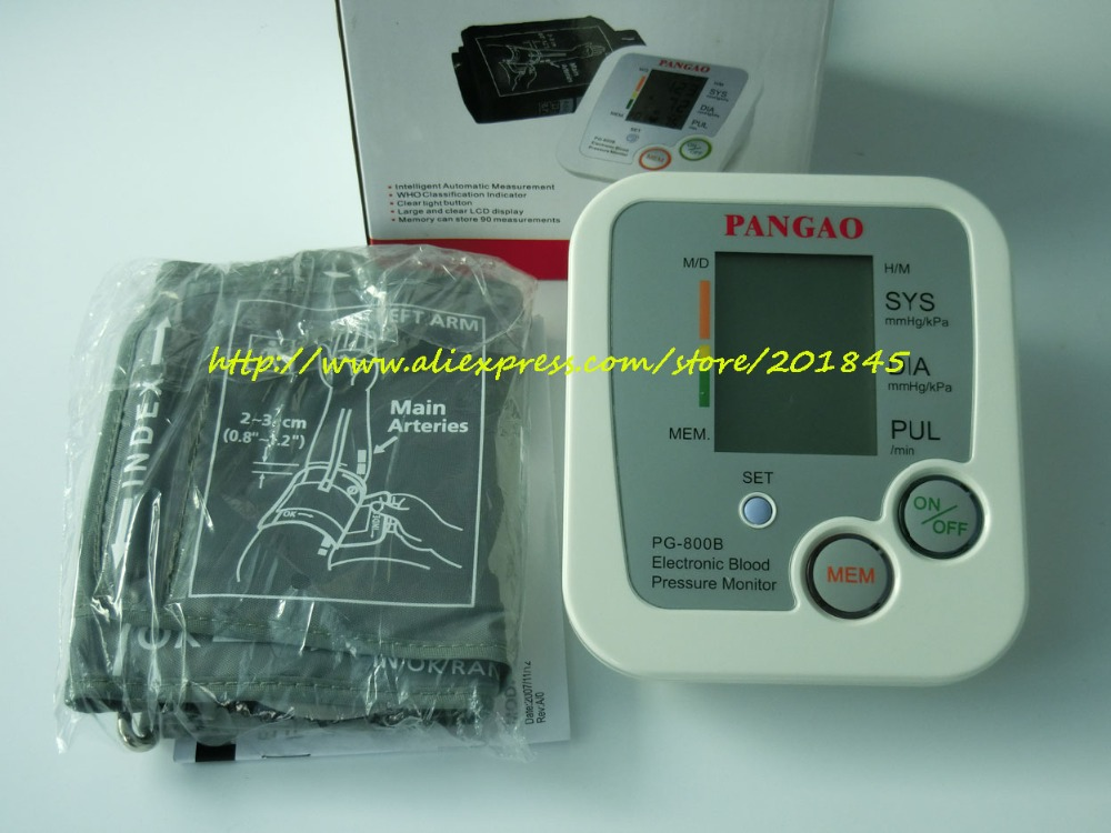 2pcs Digital Upper Arm Blood Pressure Pulse Monitors tonometer Portable Blood Pressure Monitor meters sphygmomanometer blood pressure monitor automatic digital manometer tonometer on the wrist cuff arm meter gauge measure portable bracelet device