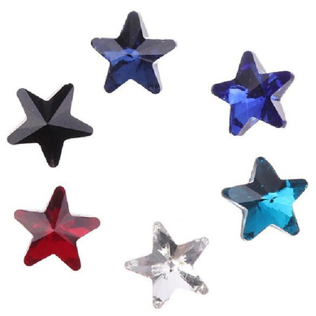 Five pointed star shape crystal stone 5b1b03ffc467