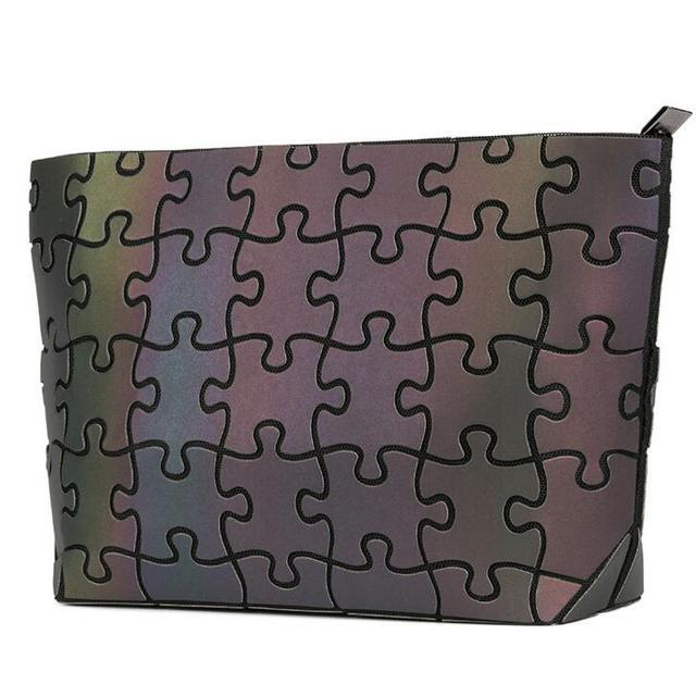 Glowing Puzzle Design Crossbody Mini Women's Bag
