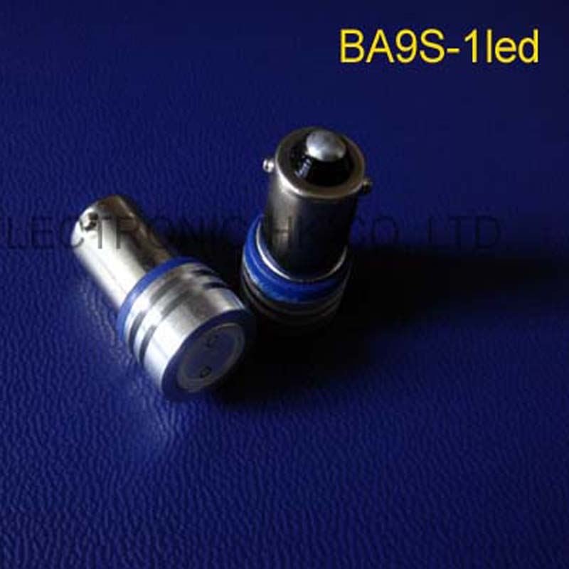 High power 6V 0.5w BA9S led Instrument Lights,ba9s led Pilot Lamp,0.5w,6.3v ba9s LED indicating lamp free shipping 100pcs/lot