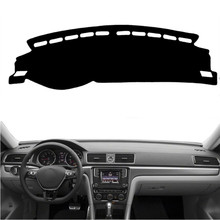 цена на Car Dashboard Cover Mat Dashmat Pad Anti-UV Sun Shade Instrument Covers Carpet For Volkswagen VW Passat B8 2016-2018 Accessories